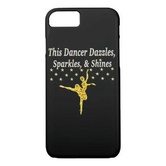 GOLD SPARKLING DANCER iPhone 7 CASE