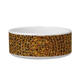 Gold Spiral Pattern Bowl