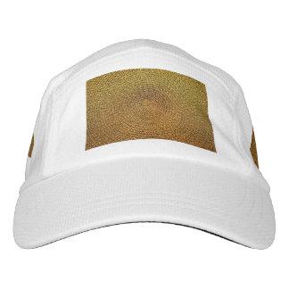 Gold Spiral Pattern Hat