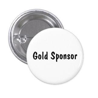 Gold Sponsor Button