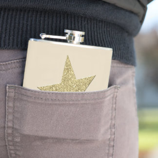 Gold Star Flask