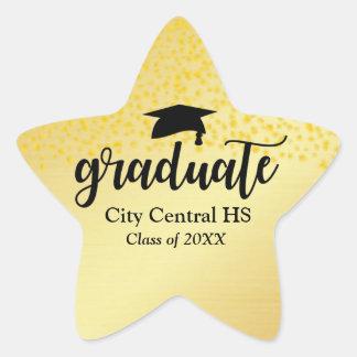 Gold Star Graduate 2018 Graduation Envelope Seal