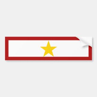 Gold Star Mother Bumper Sticker Car Bumper Sticker