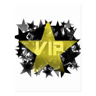 Gold Star VIP Postcard