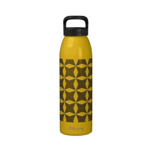 Gold star water bottle