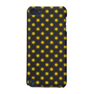 Gold Star with Black Background iPod Touch 5G Case