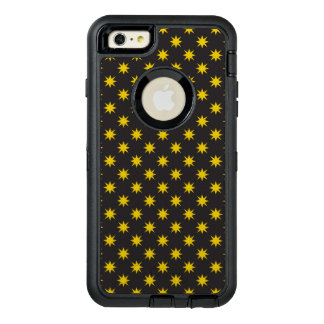 Gold Star with Black Background OtterBox Defender iPhone Case