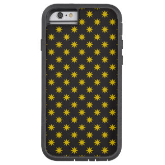Gold Star with Black Background Tough Xtreme iPhone 6 Case
