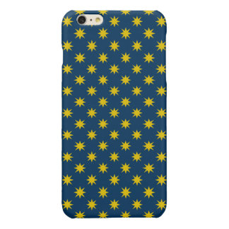 Gold Star with Navy Background