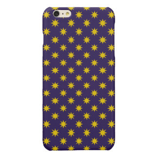 Gold Star with Royal Purple Background
