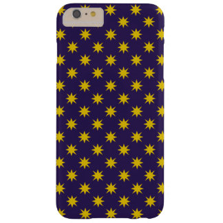 Gold Star with Royal Purple Background Barely There iPhone 6 Plus Case