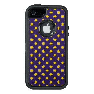 Gold Star with Royal Purple Background OtterBox Defender iPhone Case