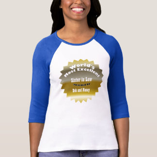 GOLD STAR ..World's Most Excellent T-Shirt