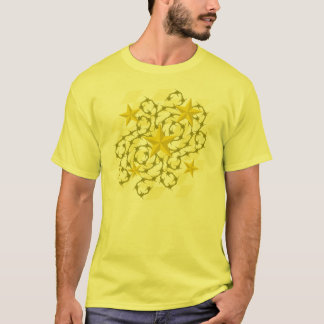 Gold Stars & Barbs T-Shirt