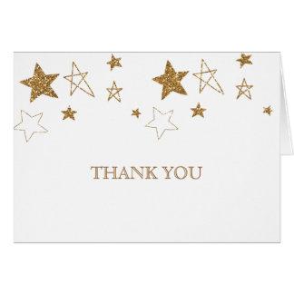 Gold Stars Card