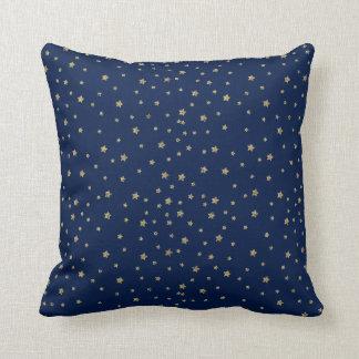 Gold Stars Cushion