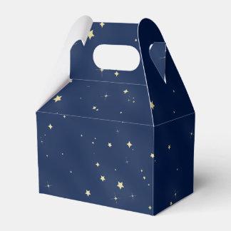 Gold Stars Favour Box