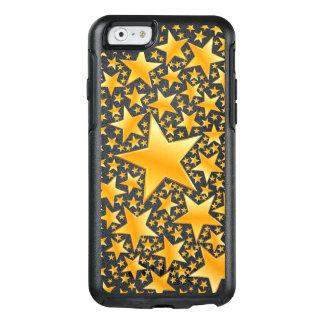 Gold Stars Pattern OtterBox iPhone 6/6s Case