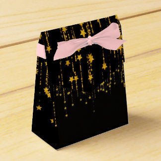 Gold Stars - Tent - hueibabotsukusu Favour Box