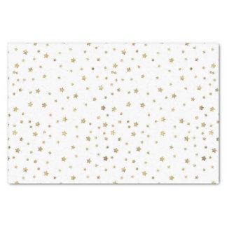 Gold Stars Tissue Paper