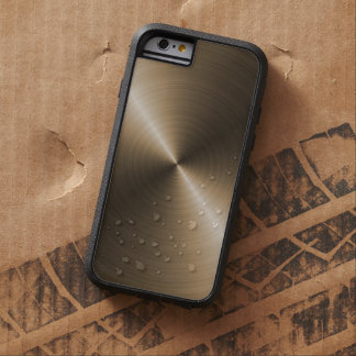 Gold Steel Look iPhone 6 case