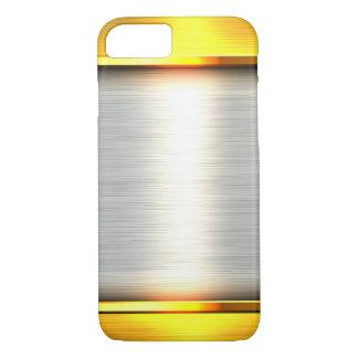 gold steel metal plate textures iPhone 8/7 case