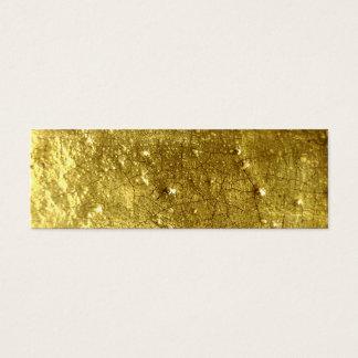 Gold stone mini business card