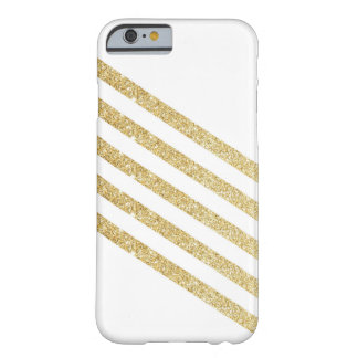 Gold Stripe Barely There iPhone 6 Case