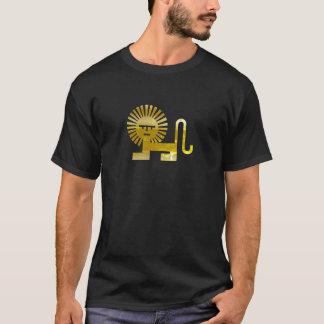 Gold Sun Lion T-Shirt