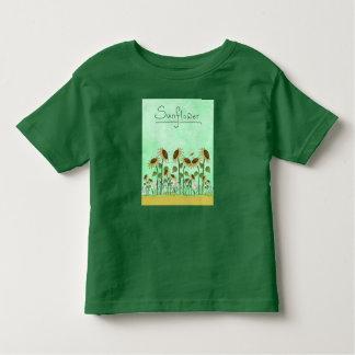 Gold Sunflower Yellow Country Prims Summer Autumn Toddler T-Shirt