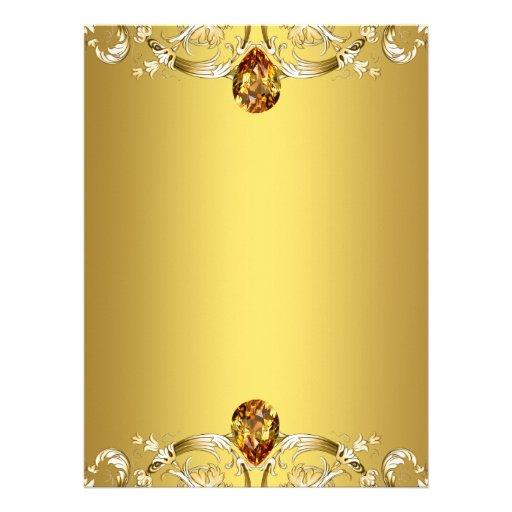 Gold Swirls Party Invitation Template | Zazzle: www.zazzle.com.au/gold_swirls_party_invitation_template...