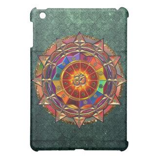 Gold Symbolic Sun Mandala Cover For The iPad Mini