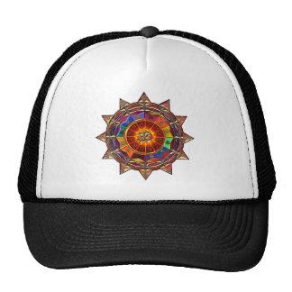 Gold Symbolic Sun Mandala Hats
