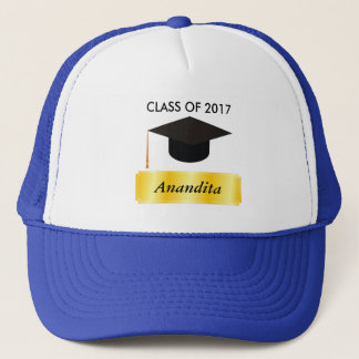 Gold Tag Graduation Trucker Hat