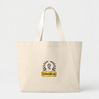 gold tag lincoln large tote bag