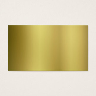 Gold Template Back Customize Business Card