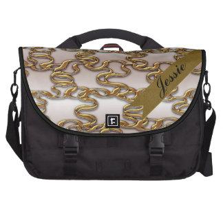 Gold Threads Commuter Bag