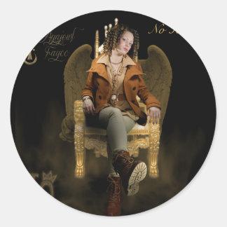 Gold Throne Sticker