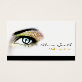 Gold to glitter eyeshadow - Makeup Artist