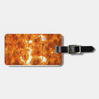 Gold Tone Guy Tie Luggage Tag