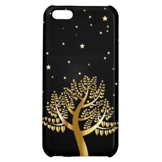 Gold Tree iPhone 5C Case