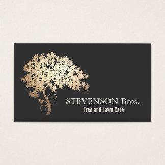 Gold Tree Lawn Care Landscape and Garden Designer Business Card