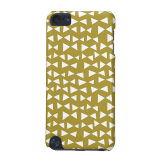 Gold Triangle Mustard Yellow Olive / Andrea Lauren iPod Touch 5G Case