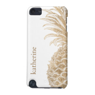 Gold Tropical Pinneapple iPod Touch 5G Cover