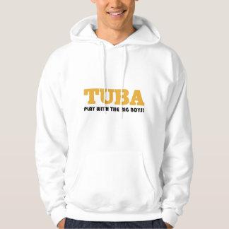Gold Tuba Attitude Gift Hoodie