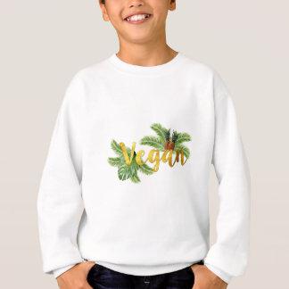 Gold Vegan with Pineapples Sweatshirt