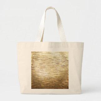 Gold Vermeil Large Tote Bag
