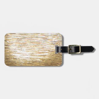 Gold Vermeil Luggage Tag