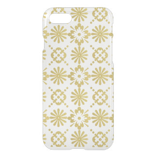 Gold Victorian Inspired Pattern iPhone 7 Case