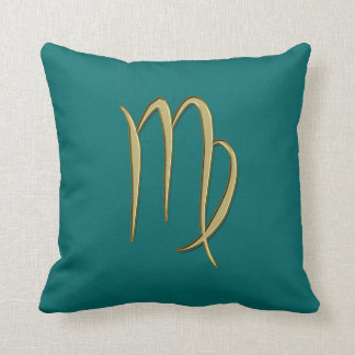 gold virgo cushion